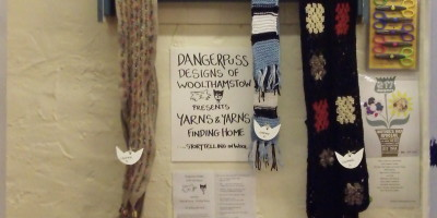 Dangerpuss Designs of Woolthamstow presents Yarns & Yarns: Finding Home
