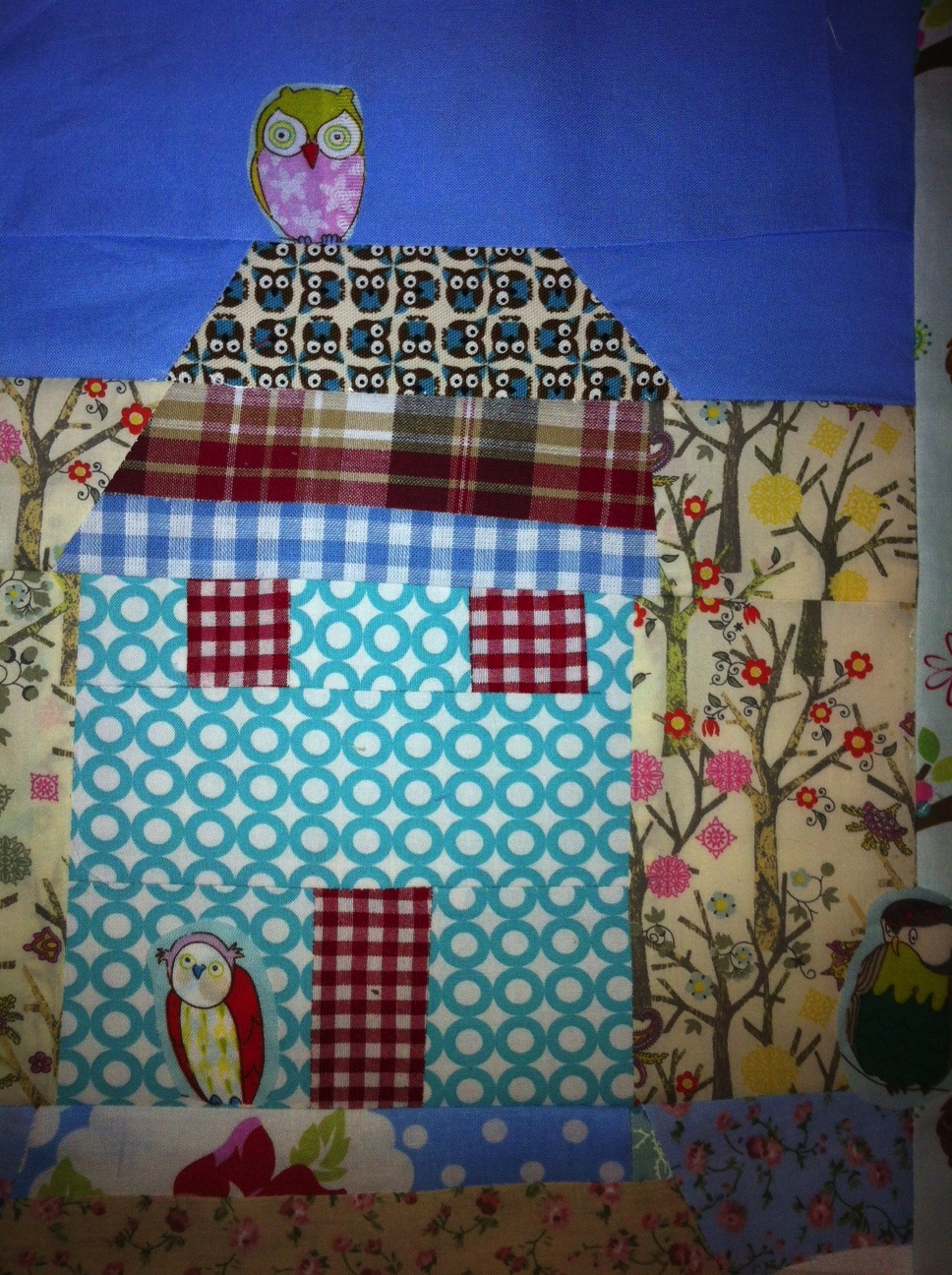 Neighbourly Quilt Block by Jennie Caminada