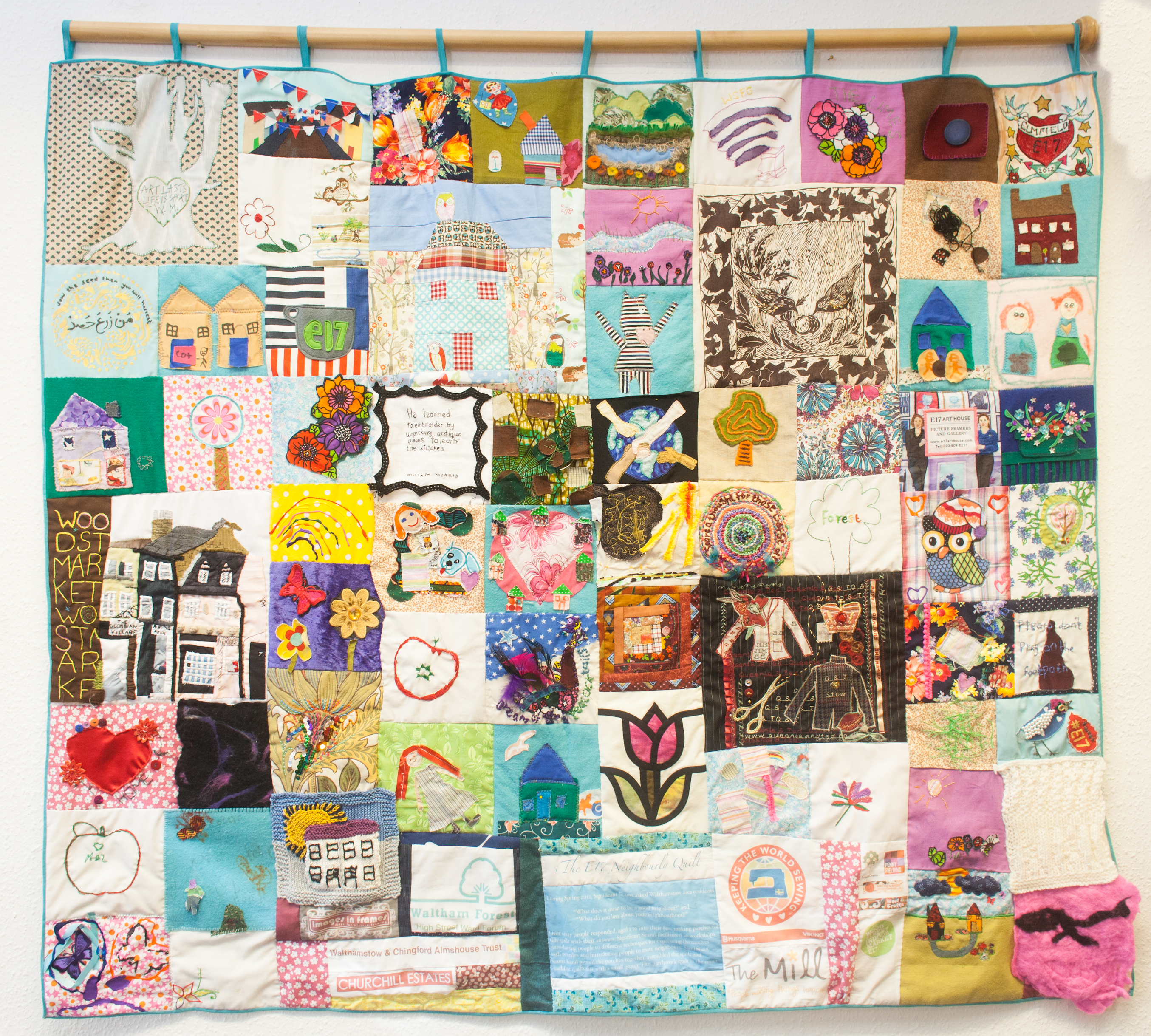 neighbourly quilt