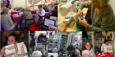 Sewing Club and classes at 131 Wood Street