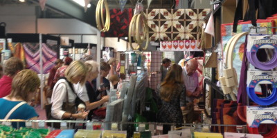 The Quilt Festival Part 2: The Stalls and Nifty Products