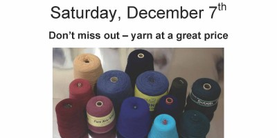 Christmas Doings, a Huge Yarn Sale, and a Giveaway!