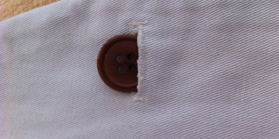 Tutorial: Sewing On a Button