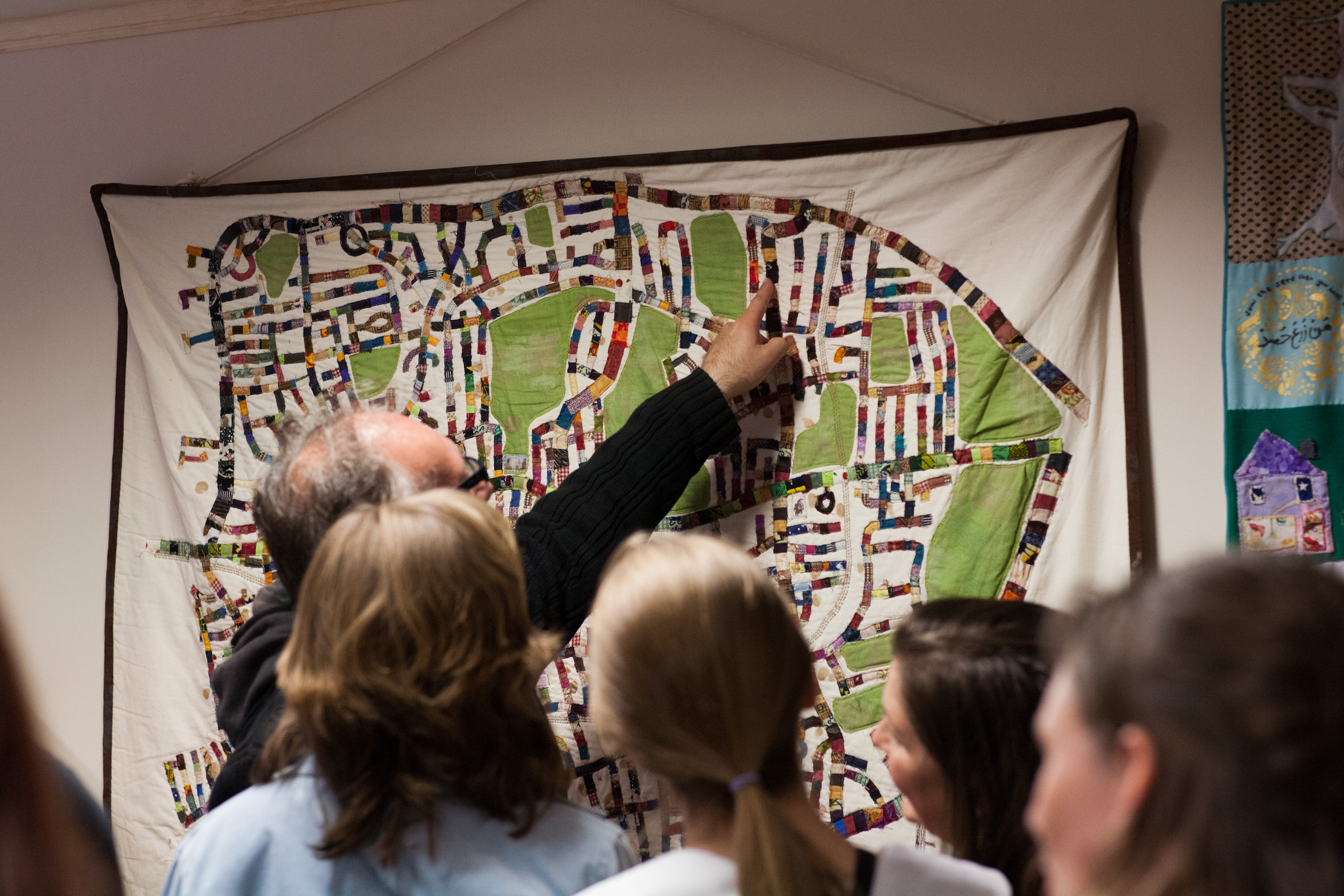 The Neighbourhood Quilt sparks conversations