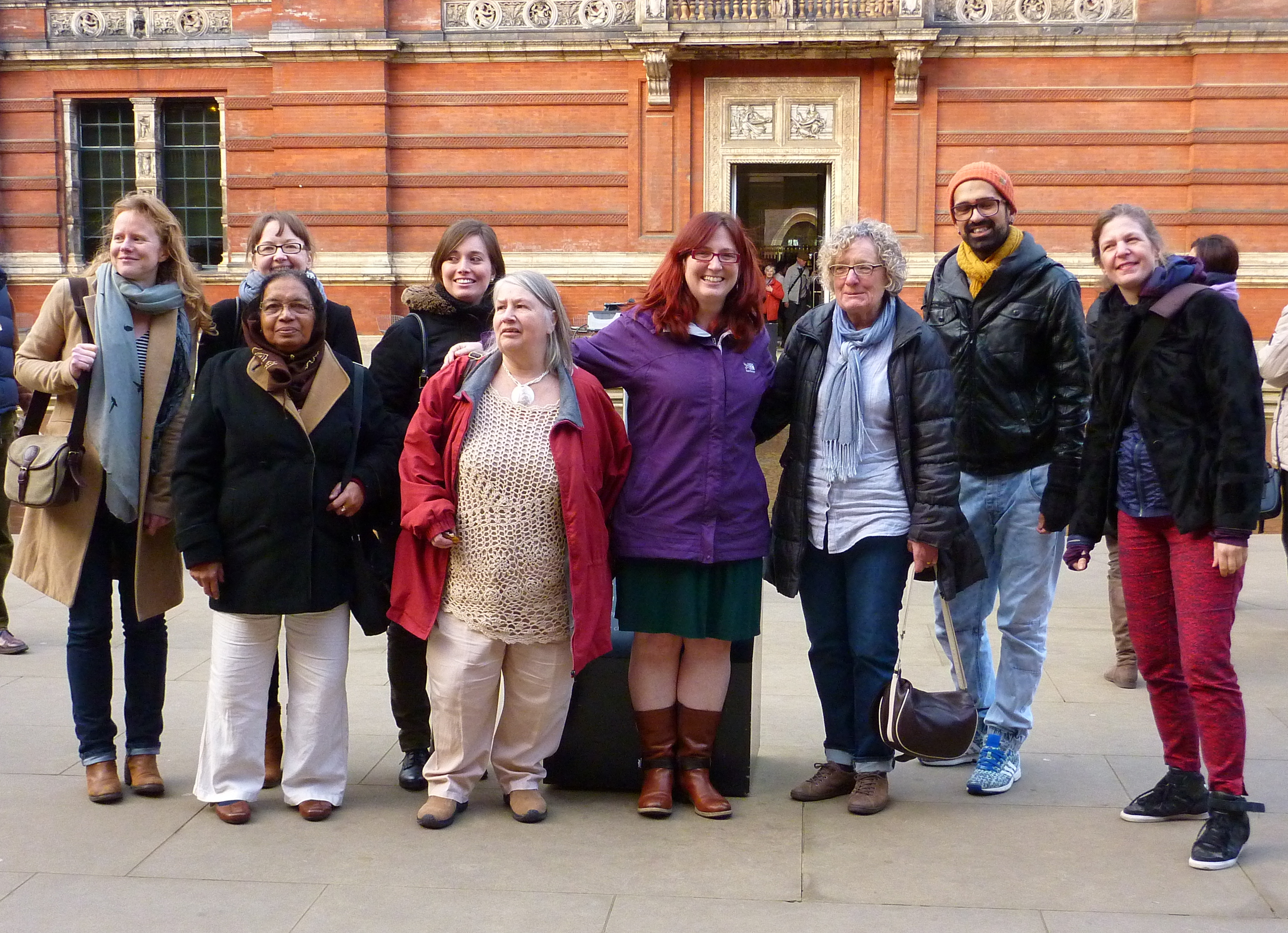 Volunteers trip to the Victoria and Albert Fabric of India exhibition