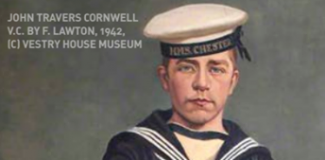 Jack Cornwell VC 'Giants Garden' Commemoration