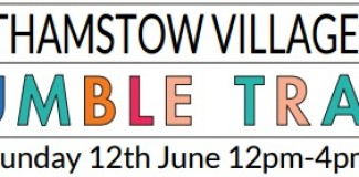 Open this Sunday for the E17 Jumble Trail