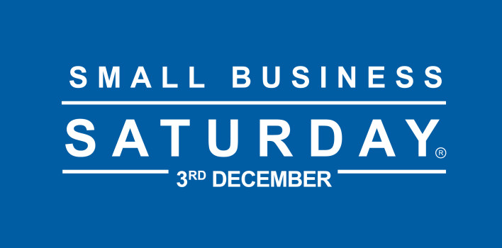 Small Business Saturday … THIS Saturday 3rd December!