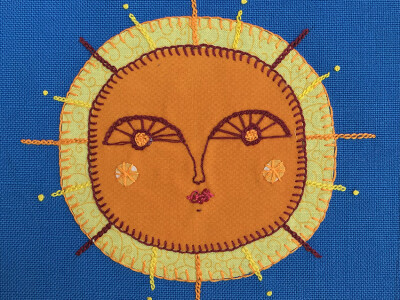 Deadline to contribute patches (or poetry) for 'Here Comes The Sun' Quilt 30 October